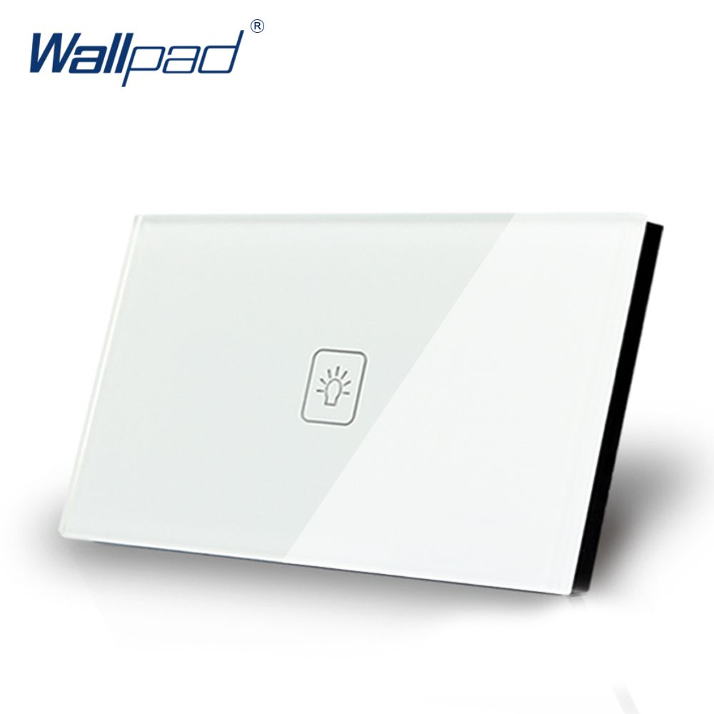 us/au standard wallpad touch switch 1 gang 1 way touch screen, Wiring diagram