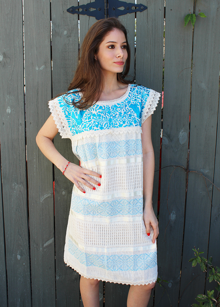 cf0ab2d0278 Sweeten your summer in one of our Mitla dresses. Shop Mexican dresses    blouses at El Interior.