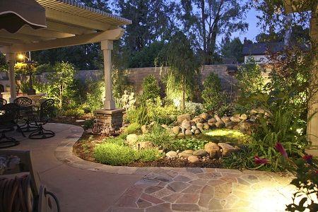 Landscape lighting denver landscape lighting on koi pond and patio landscape lighting denver landscape lighting on koi pond and patio aloadofball Images