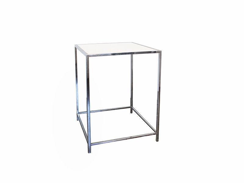 Table cruiser chrome et plexi / Chrome and plexi Cruiser table ...