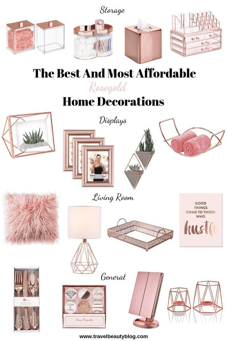 Photo of Home Decorations In Rosegold 2019 | Travel Beauty Blog