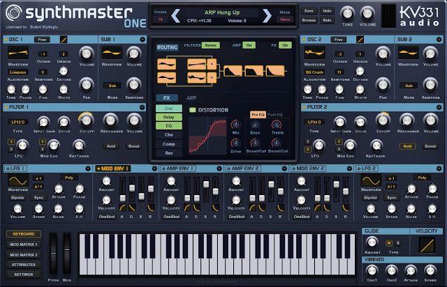 MATRIXSYNTH: KV331 Audio Synthmaster One Officially Announced