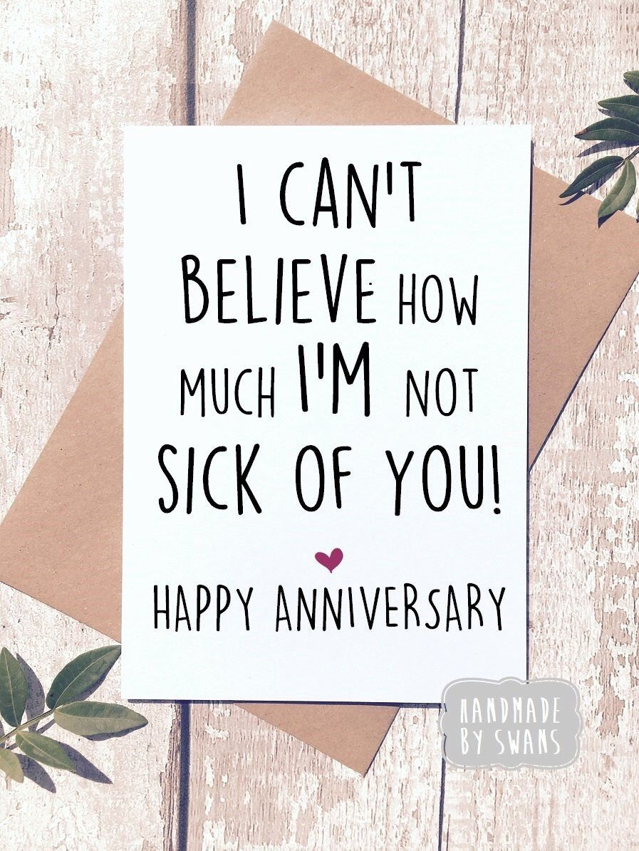 Anniversary Card for Husband New 4th Marriage Anniversary