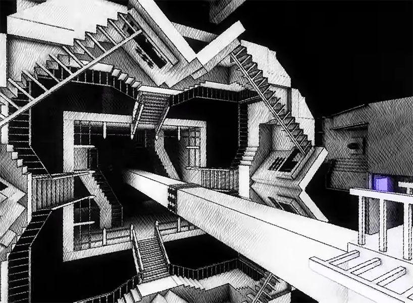 Step Inside The Mind Of M C Escher In This Mind Bending Playable Puzzle Landmarks Sydney Opera House Building