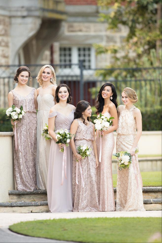 cb0aab33 Introducing Nouveau Sequin, an Art-Deco Inspired Gown - Pretty Happy Love -  Wedding Blog | Essense Designs Wedding Dresses