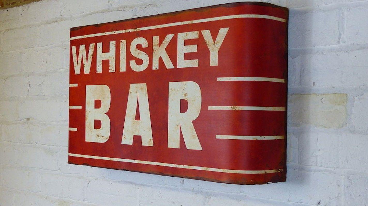 Whiskey Bar Sign