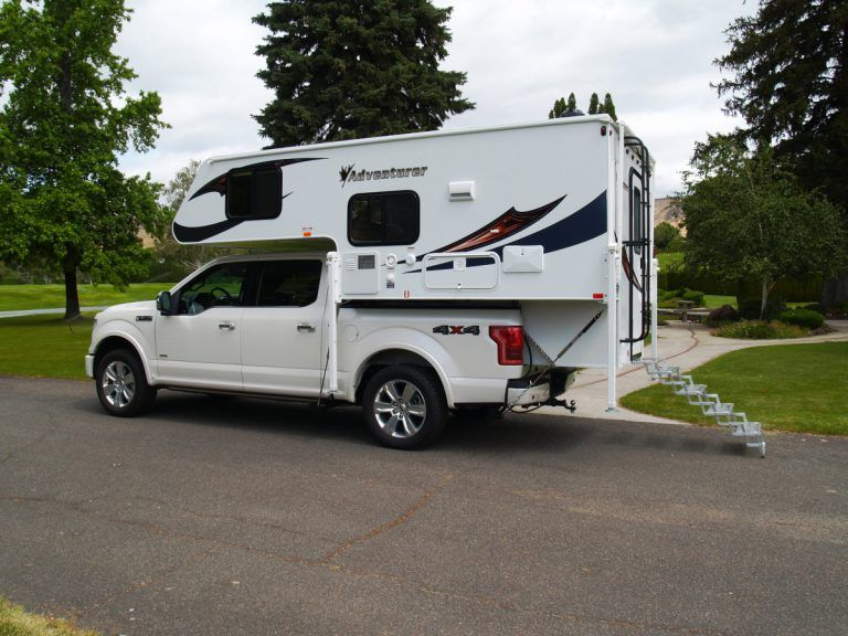 Adventurer Truck Camper Model 80rb Truck Camper Slide In