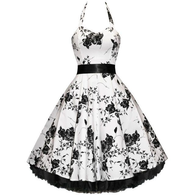 Vintage Halterneck impresión floral plisado sin mangas linda del ...