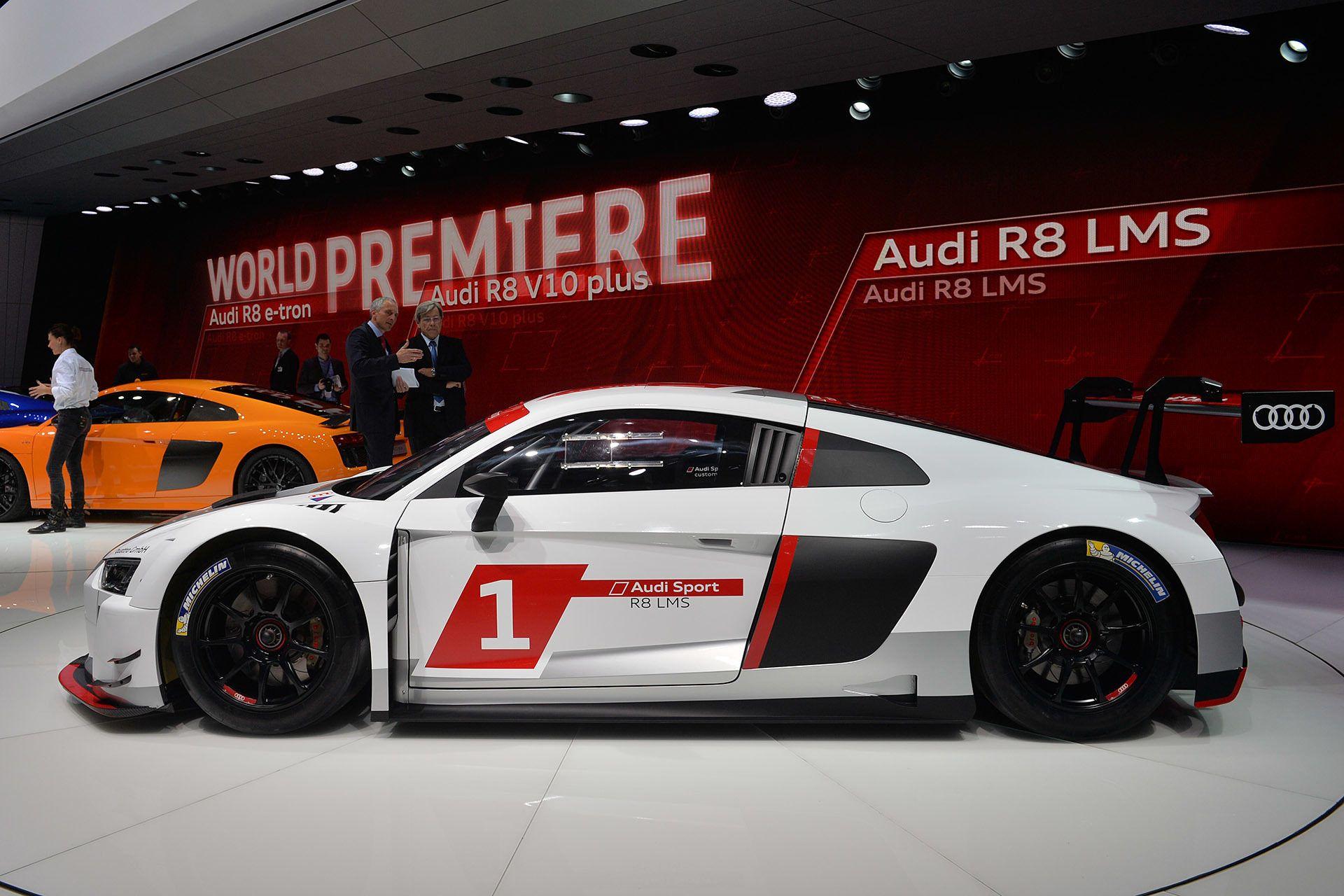 2016 Audi R8 LMS Race Car Side