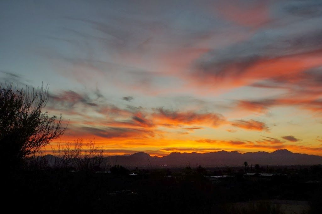Two Year Tucson Arizona Sunset Project