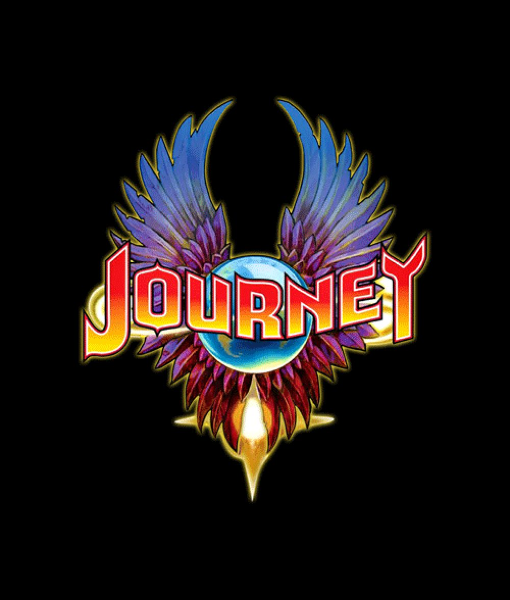 96cb2972a406 Journey T Shirt in 2019 | Band T shirts | Rock band logos, Journey ...