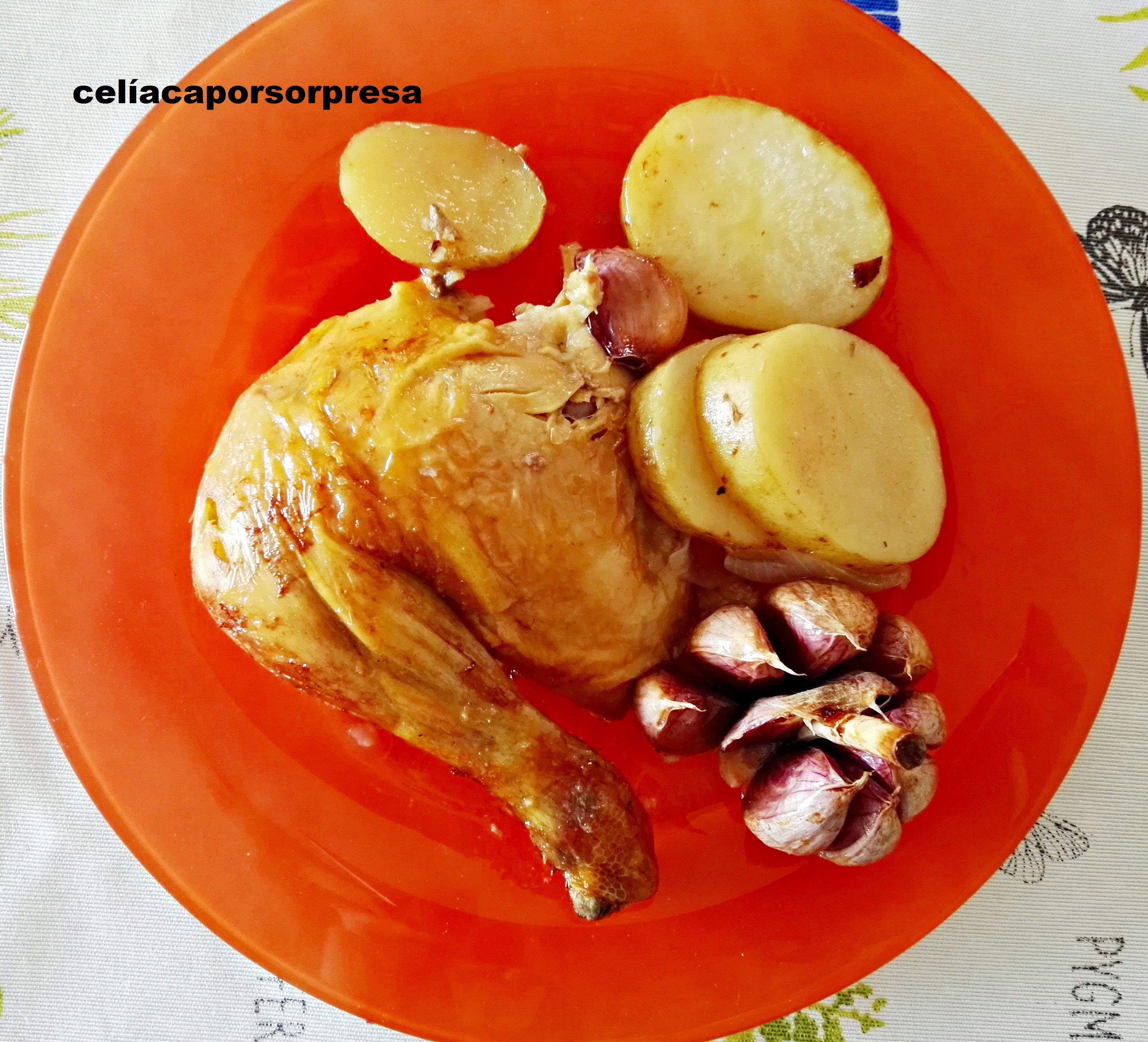 Pollo De Corral Al Horno Pollo De Corral Al Horno Pollo De Corral Recetas Con Carne