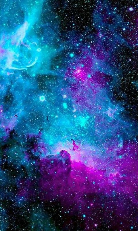Blue Galaxy Galaxy Wallpaper Papeis De Parede Galaxia Papel De