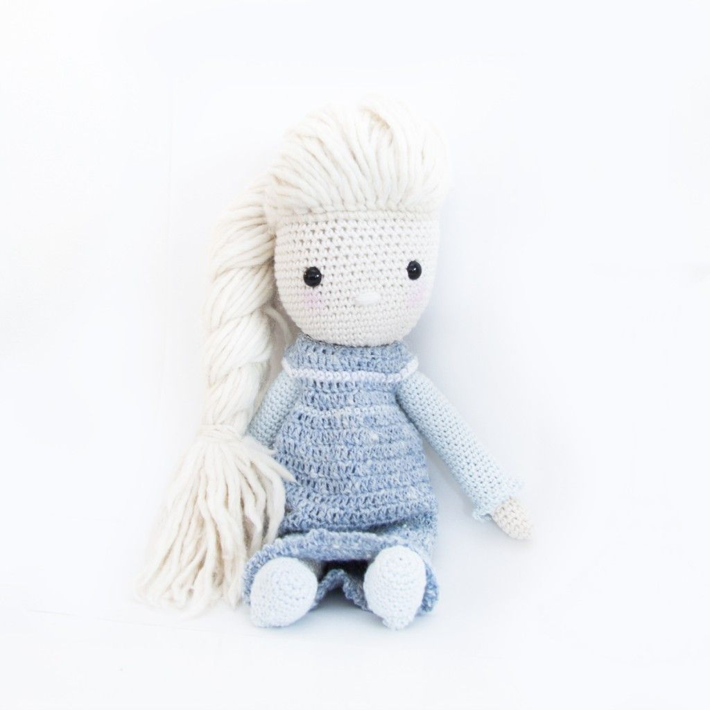 Frozen Elsa Crochet Dress | Crochet dolls | Pinterest