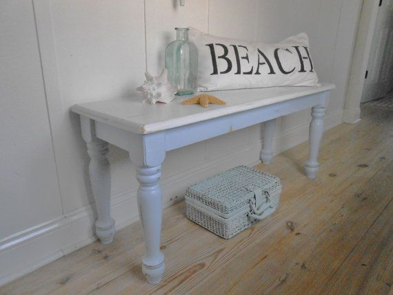 Fabulous Bench Shabby Chic Furniture Beach Cottage Chair Beach Cottages Largest Home Design Picture Inspirations Pitcheantrous