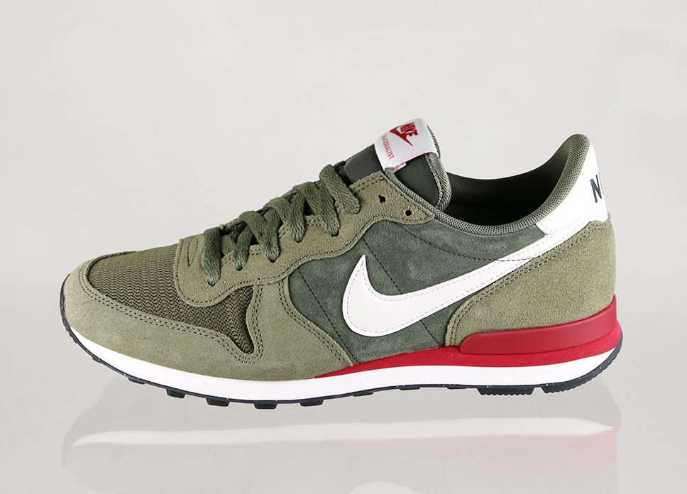 nike internationalist herren olive
