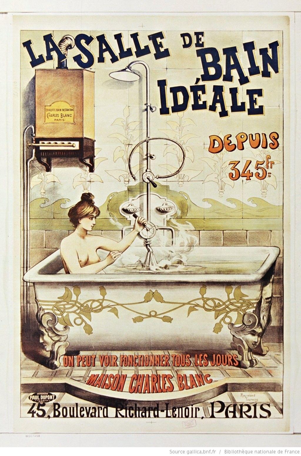 Affiche Ancienne Pour Salle De Bain la salle de bain idéale depuis 345fr maison charles blanc