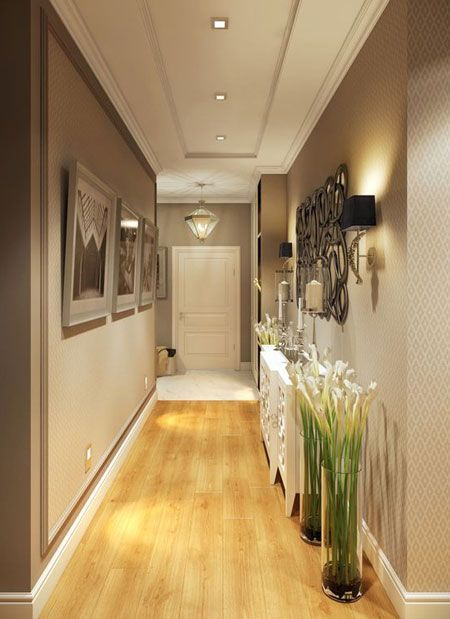 Hallways Tend To Be Dark Spaces Due To The Lack Of Natural Light In These Areas, But You Can