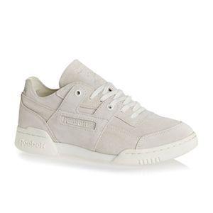 560da062deb Reebok Shoes - Reebok Workout Lo Plus Fbt Shoes - Chalk Snowy Grey ...