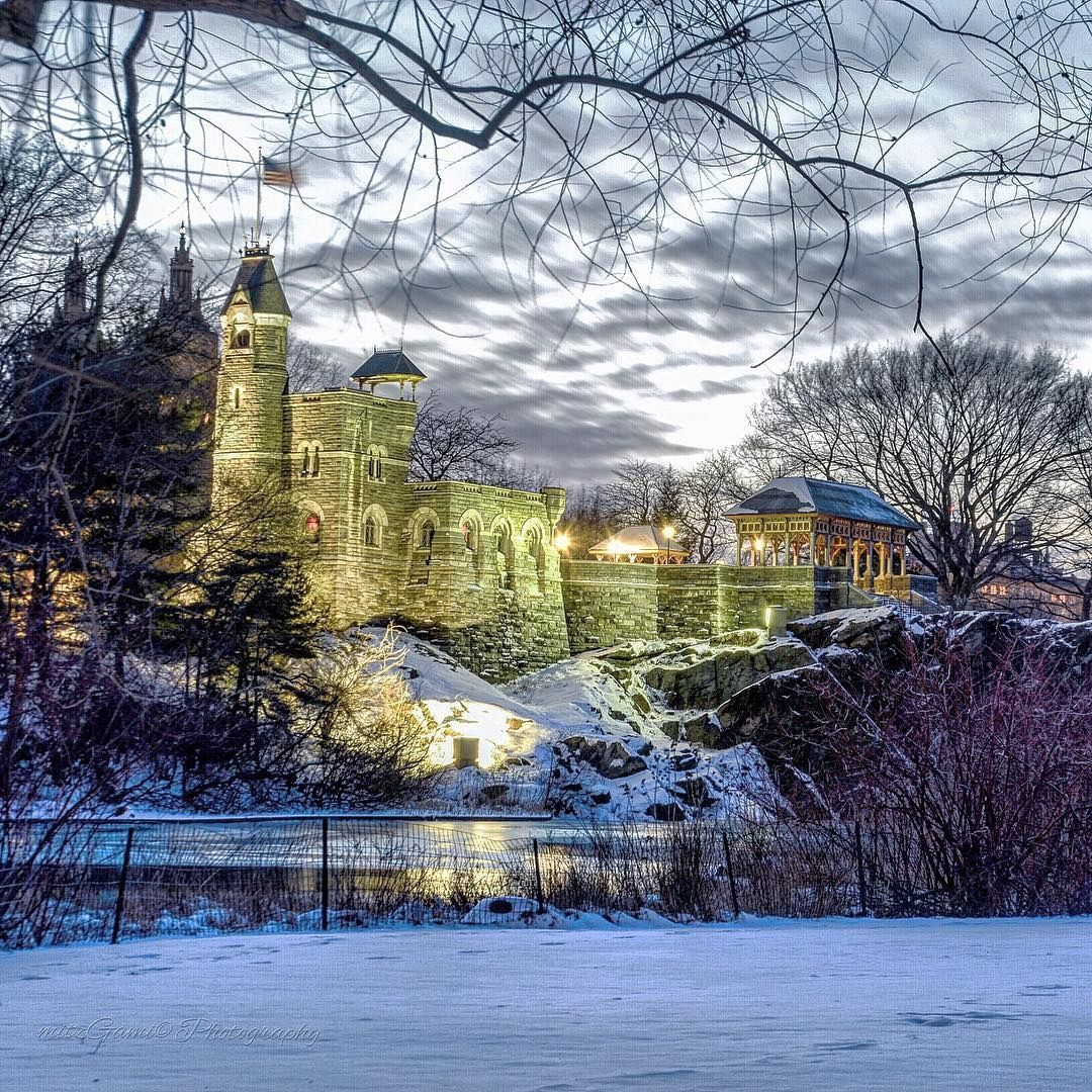 "40 Central Park South Nyc: ""Belvedere Castle, Gothic-style Castle Built In 1869"
