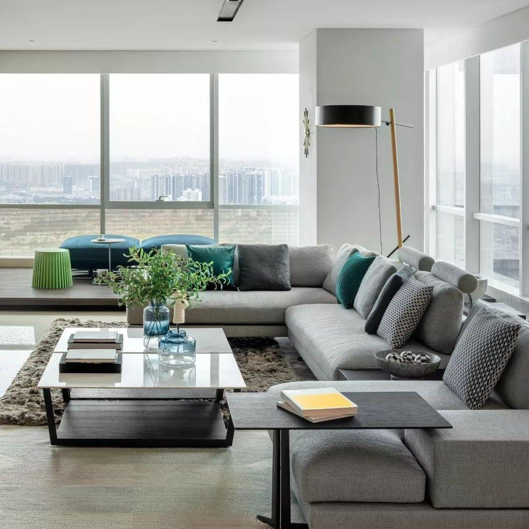 吕爱华力作 450m²私宅设计,演绎极致的生活格调! 马蹄室内设计网 Home, Home decor