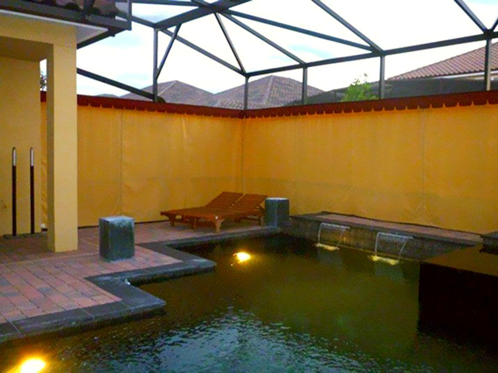 Private Screens Outdoor Curtains Outdoor Privacy Pool