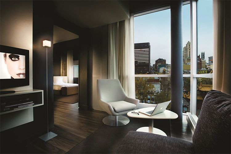 Montreal Has Some Kick Hotel Suites To Serve As Your Base Crash Pad And Hq During Bachelor Party Festivities