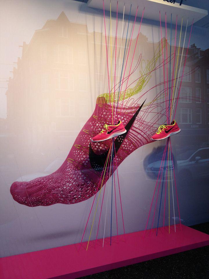 Nike windows by Con Fetti Kalverstaat Amsterdam 02 Nike windows by  ConFetti, Amsterdam