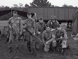 Easy Company: based in Swindon just before D-Day