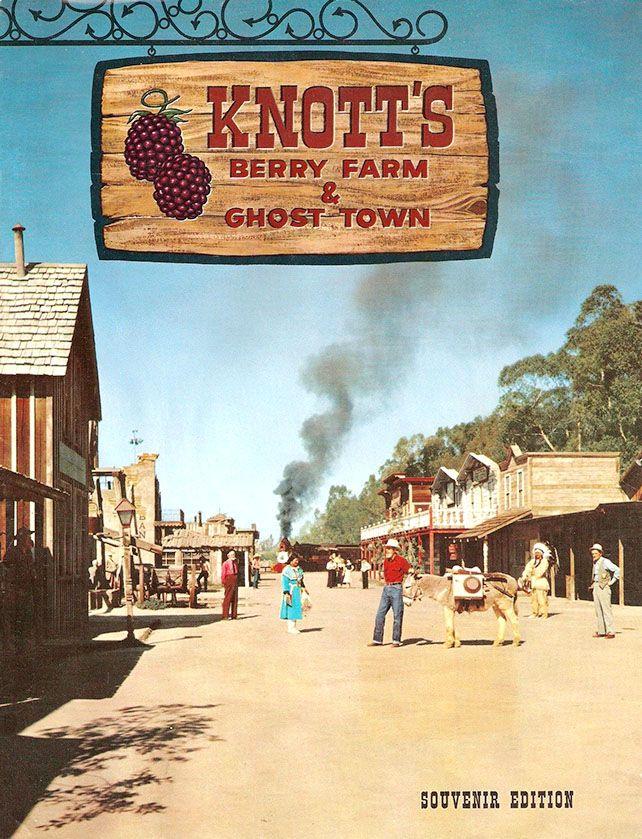 Knott's Berry Farm Souvenir Program ~ 1964