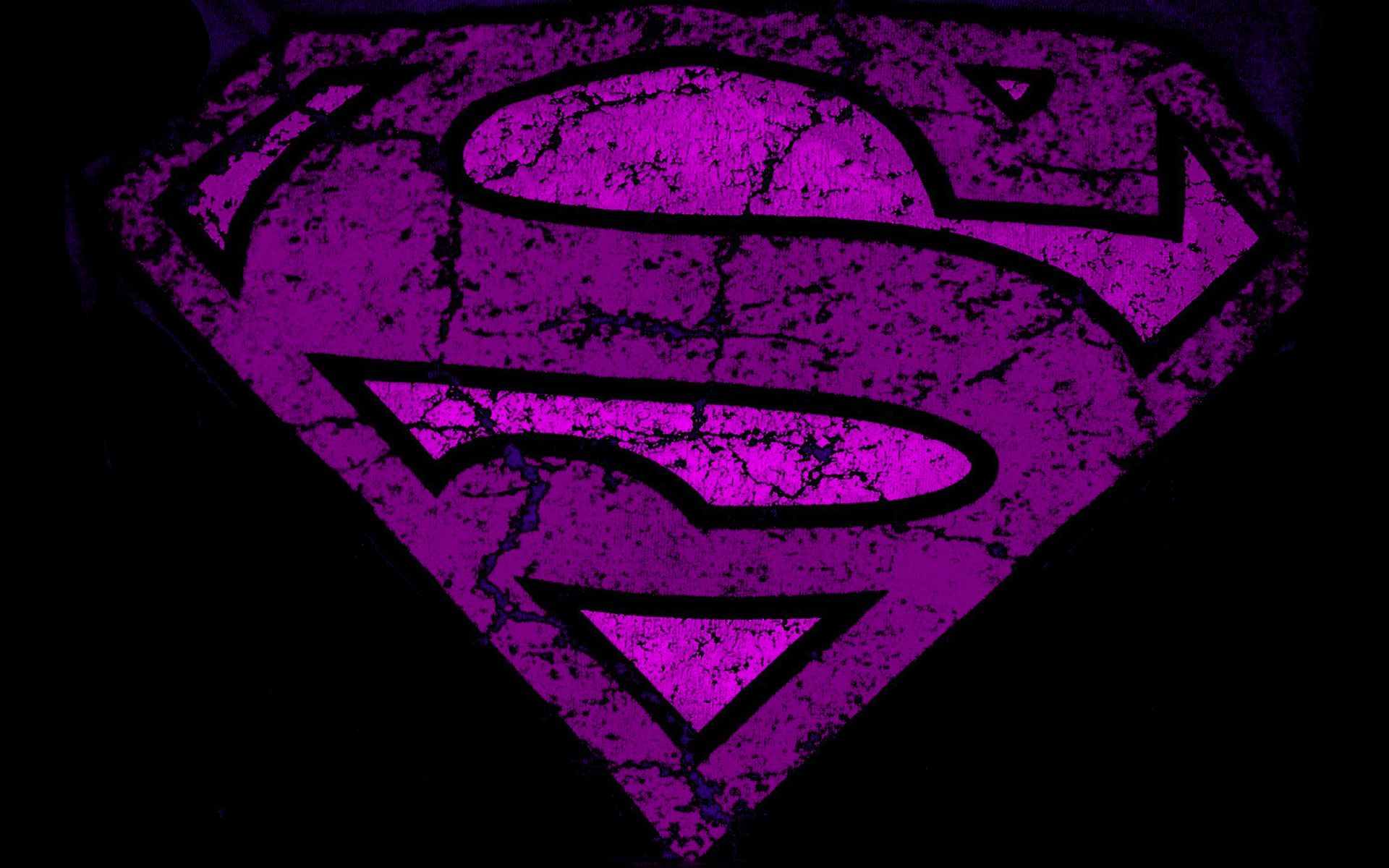 Purple superman logo Wallpapers | Pictures | superman ...
