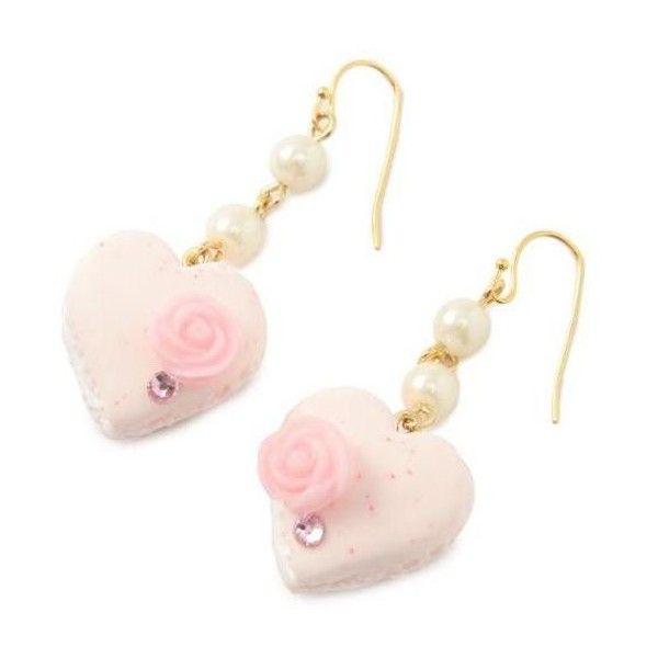 【予約】《Tokyo Kawaii Life Dolce Deco》LIZ LISAコラボイヤリング アクセサリー Dolce... ❤ liked on Polyvore featuring jewelry, earrings, accessories, pink, earring jewelry, pink earrings, art deco jewellery, deco jewelry and art deco jewelry