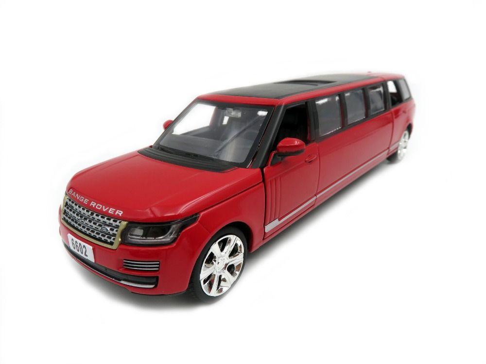 Range Rover Limousine 1:32 Scale Diecast Car Metal Sport Model Pull Back Boy
