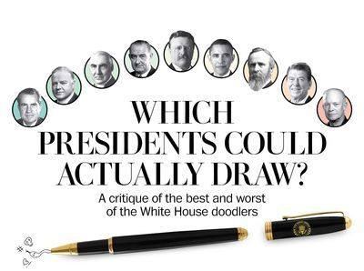 Presidential Doodles: What we see when we look closely at the hand of power. - The Washington Post
