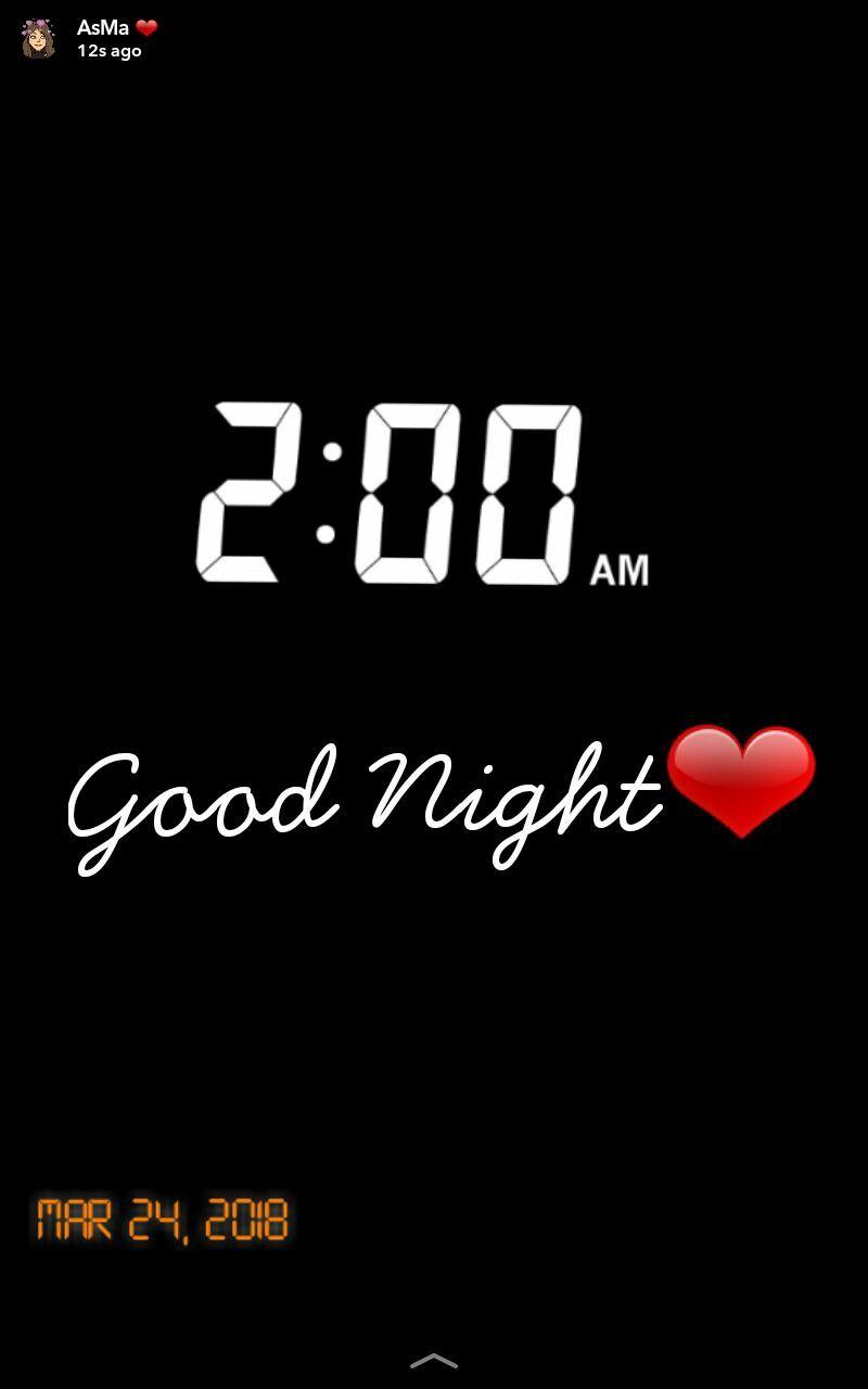 Good Night  Snapchat AsMa Mujeer   Snapchat   Snapchat, Good