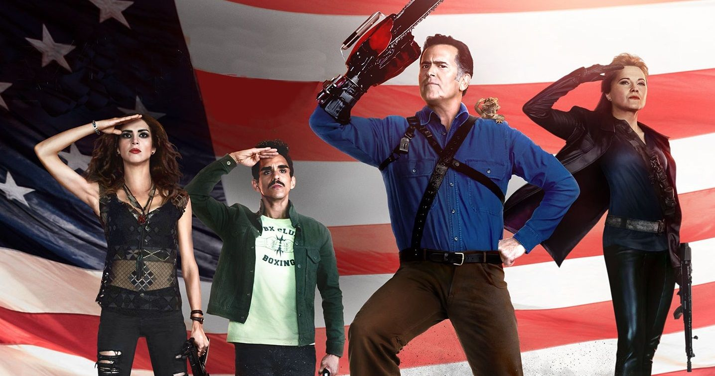 Ash Vs Evil Dead Saving New York Comic Con 2017 With Panel And Autograph Signing Session Ash Evil Dead Starz Series Bruce Campbell