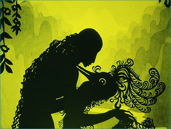 The Adventures of Prince Achmed (1926) still frame - Lotte Reiniger