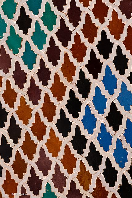 Tiles In Medersa Bou Inania Fes Morocco Papier Peint Marocain Papier Peint Et Art Islamique