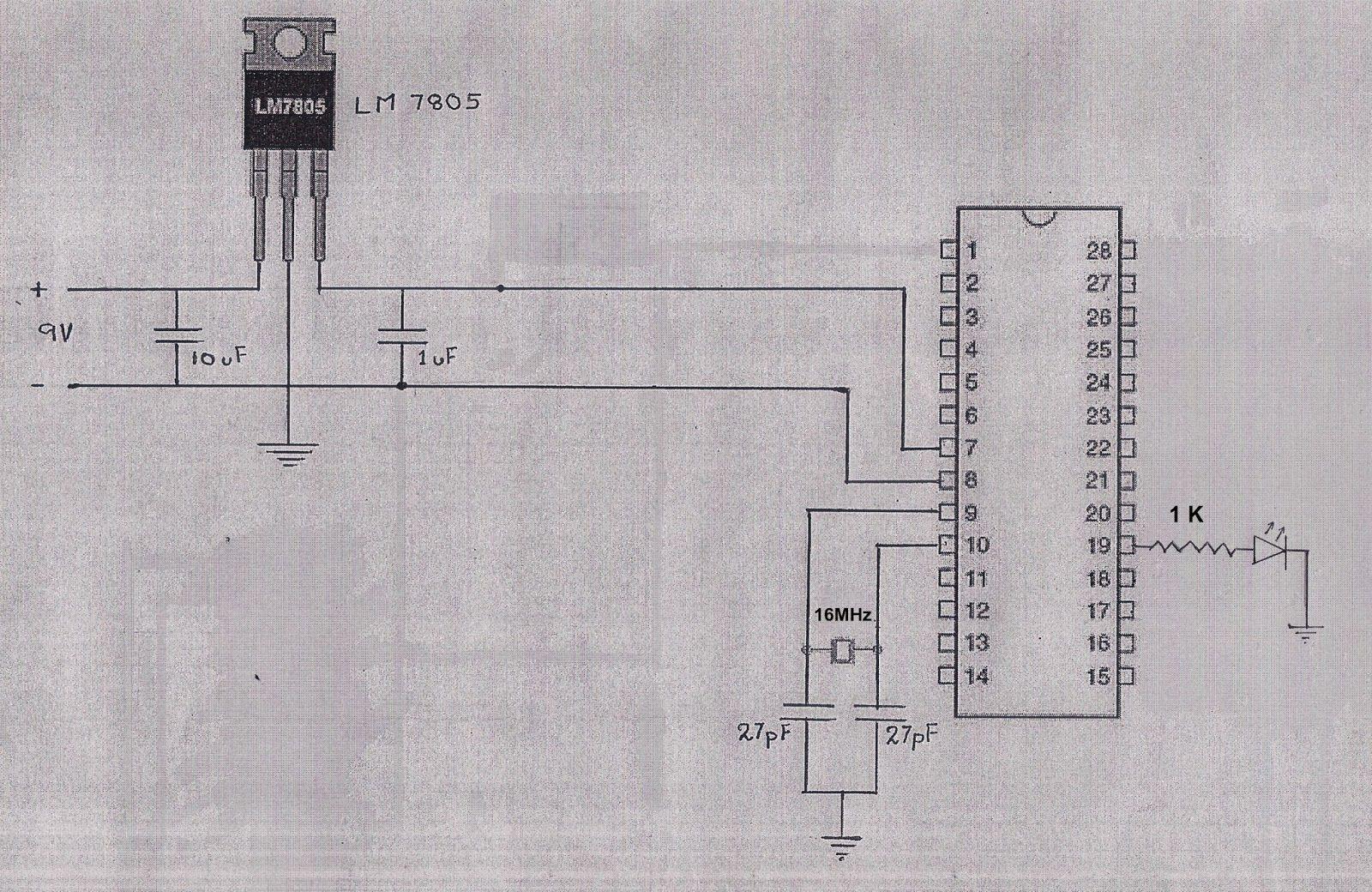 Seperate Atmega328 Microcontroller From Arduino Board