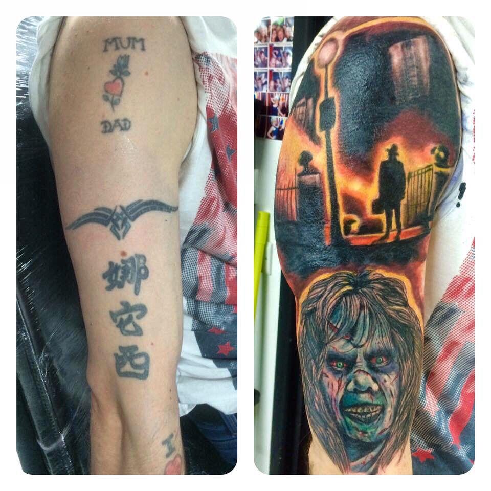 Exorcist tattoos i tattoo