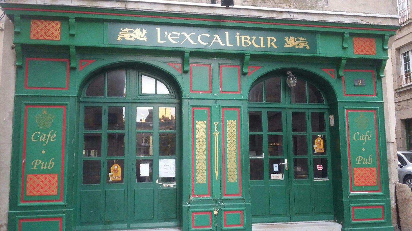 Bar L'Excalibur, St Malo, Bretagne