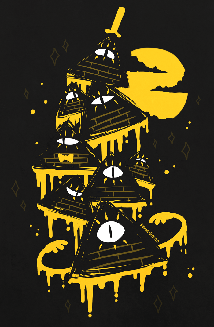 ...Night Parade... by Insane-Dorito on deviantART--- He looks like a tortilla chip dipped in cheese...