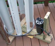 Homestead #OffGrid - VAWT=vertical axis wind turbine  This one's
