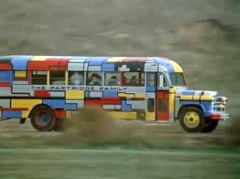 The Lost History Of The Partridge Family Bus Partridge Family