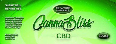 CannaBliss CBD 300 Mg | Hemp CBD Superstore | Hemp shampoo