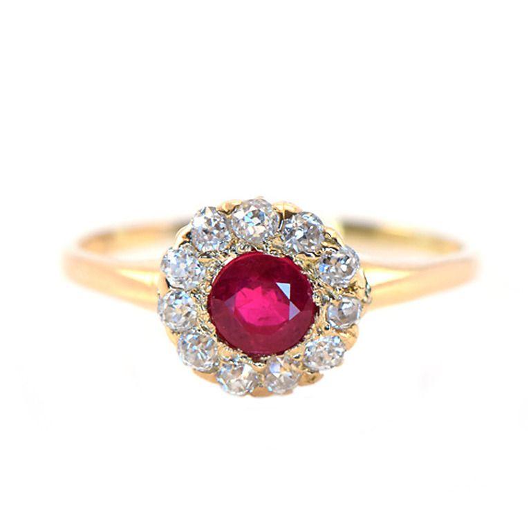 Tiffany ruby ring