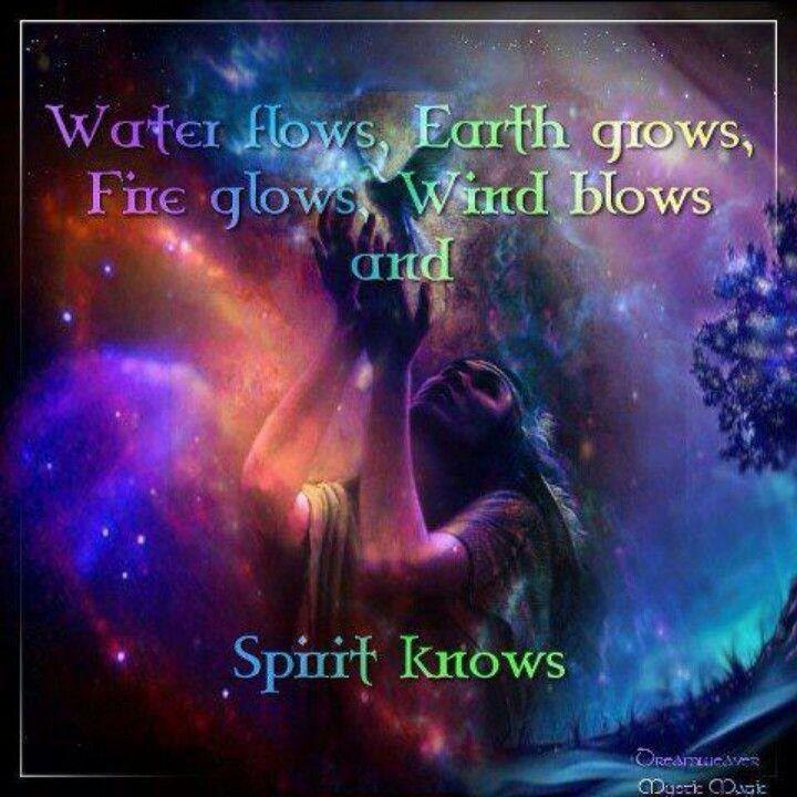 Earth air fire water spirit