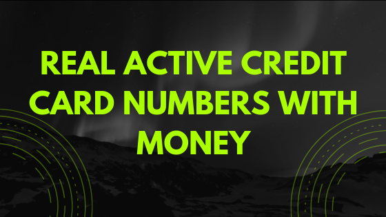 Real Active Credit Card Numbers With Money 11 With Cvv Maxnos In 2021 Mobile Credit Card Credit Card Numbers Free Credit Card