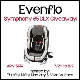 Win An Evenflo Symphony 65 Dlx Carseat Evenflo Car Seats Giveaway