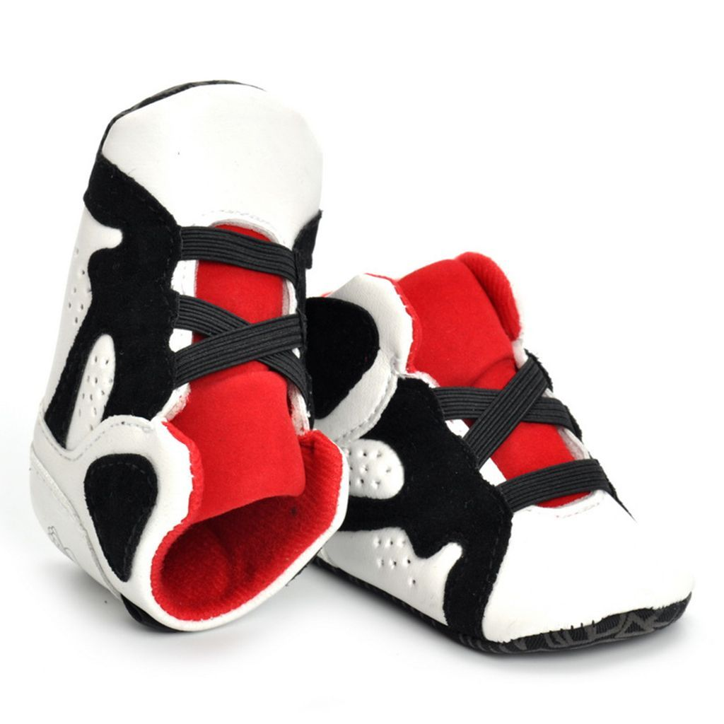 Details about LADYBIRD Baby Soft Sole Shoes (pre walkers) Trainer 'Adidas Look' Age 0 6 Mths